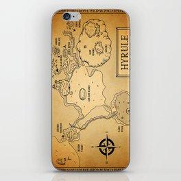 Hyrule Map  OOT iPhone Skin