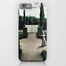 Classical Masterpiece 'Florentine Garden' by Pyke Koch iPhone Case