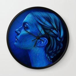 Blauw Wall Clock