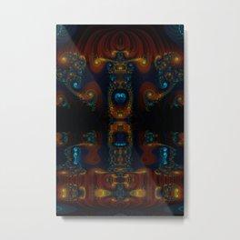 Totem Flip Metal Print
