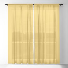 Sunshine fdcc4b Solid Color Block Sheer Curtain