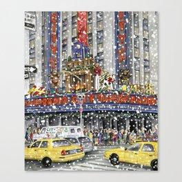 NY at Christmas Canvas Print
