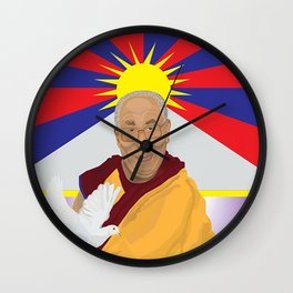 His Holiness Wall Clock
