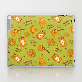 Organic Honey Pattern Laptop & iPad Skin