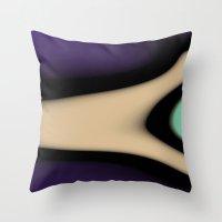 gamer Throw Pillows featuring Gamer by Fine2art