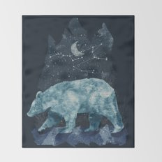 The Great Bear Throw Blanket