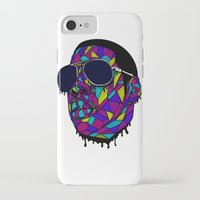 rap iPhone & iPod Cases featuring Rap Gangster by emalakaite
