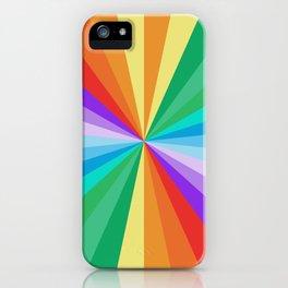 Rainbow Zoom 917 iPhone Case