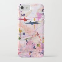 polka iPhone & iPod Cases featuring Polka by SaniQ