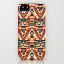 But I'm 1/64 Cherokee Seamless Pattern iPhone Case