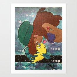 Princess Ariel Art Print