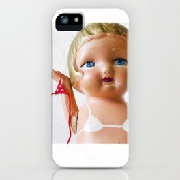Itsy Bitsy Teenie Weenie Polka Dot Gidget Bikini iPhone Case