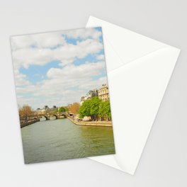The River Seine Stationery Cards
