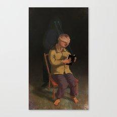 Horor Fiction Canvas Print