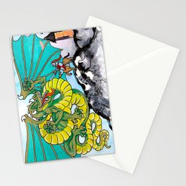 facing your fear Stationery Cards