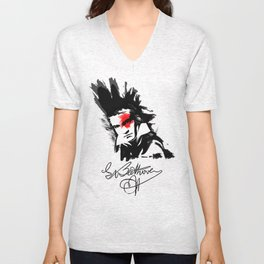 Beethoven Punk Unisex V-Neck