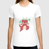 magic the gathering T-shirts featuring Chibi Red Dragon Magic the Gathering Token by Deadlance
