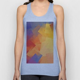 Cubism Abstract 199 Unisex Tank Top