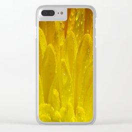 Autumn Macro-1 Clear iPhone Case