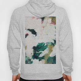 Floral Oil Abtract Hoody