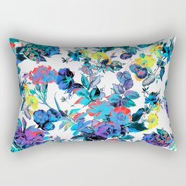 FRACTAL FLORA Rectangular Pillow