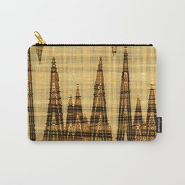 Wavy golden abstract Carry-All Pouch