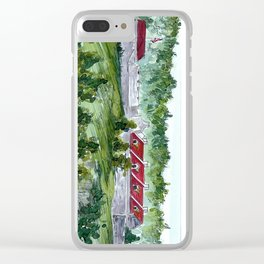 Fort Ticonderoga Clear iPhone Case