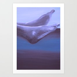 Landscape with Feet Art Print