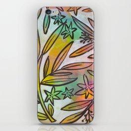 Bright Colorful Jungle Canopy iPhone Skin