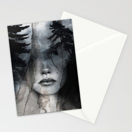Complete absence of sound Stationery Cards