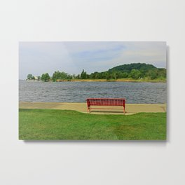 A Reason to Smile Metal Print