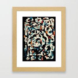 Pattern № 79 Framed Art Print