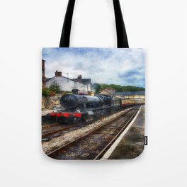Steam Train Journey Tote Bag