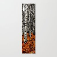 birch Canvas Prints featuring Birch by LeahOwen