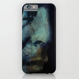 The Baffled King Composing Hallelujah iPhone Case