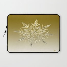 Crystal Snowflake Laptop Sleeve