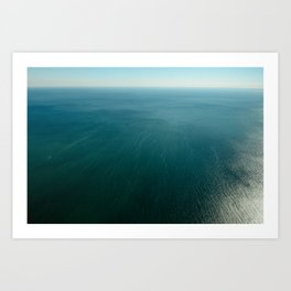 End of the Earth Art Print