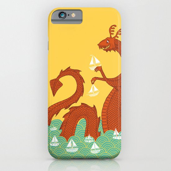 It's a Good Day to be a Sea Monster iPhone & iPod Case