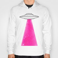 ufo Hoodies featuring UFO by Beyond Infinite