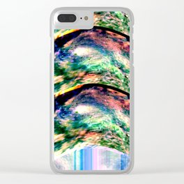 Beam me up Clear iPhone Case