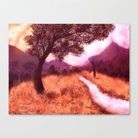 montana Canvas Prints featuring Montana by Tanya Dawn Art