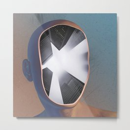 WHITE HOLE Metal Print