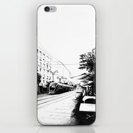 Jerusalem Light Rail iPhone Skin