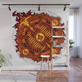 Ifrit Seal Wall Mural
