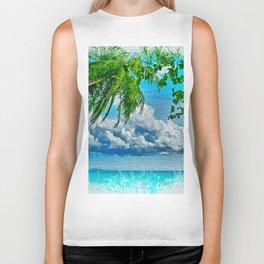 My tropical Heaven Biker Tank