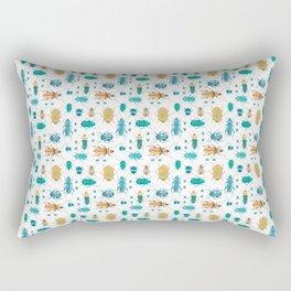 Beetles #2 Rectangular Pillow