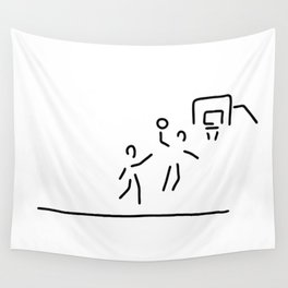 basketball usa basketball player Wall Tapestry