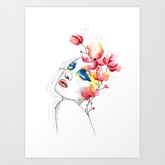 True colors Art Print