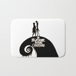 Jack and Sally - The Nightmare Before Christmas Bath Mat