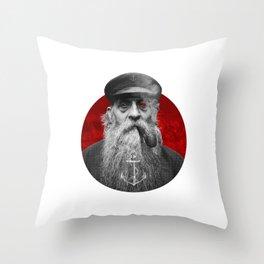 The Seaman Throw Pillow